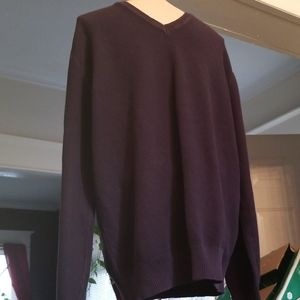 Faconnable Mens Cotton Sweater